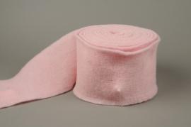 A099VQ Rouleau de laine rose 15cm x 5m