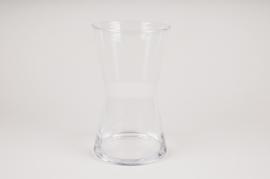 A100W3 Hourglass vase D14cm H25cm