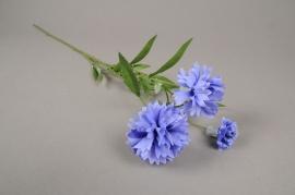 a102nn Bleuet artificiel H65cm