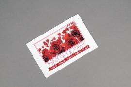 A103MQ Paquet de 15 cartes Parce que je t'aime