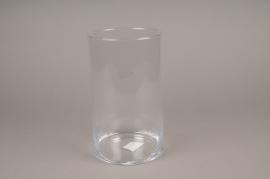 A111I0 Cylinder glass vase H25cm