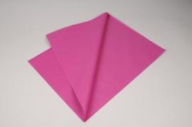 A116QX Paquet de 480 feuilles papier de soie fuchsia 50x75cm