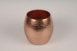 A117BV Vase en métal cuivre D19cm H20cm