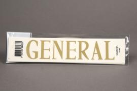 A117K4 Pochette GENERAL 33mm