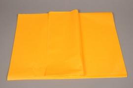 A117QX Ream of 480 tissue paper sheets saffron orange 50 x 75cm