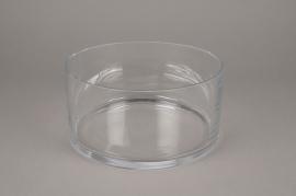 A118PQ Glass bowl D24.5cm H12.5cm