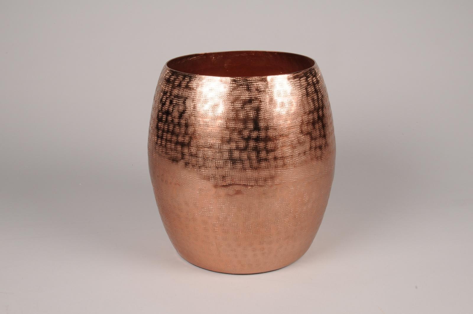 A120BV Vase en métal cuivre D23cm H25cm