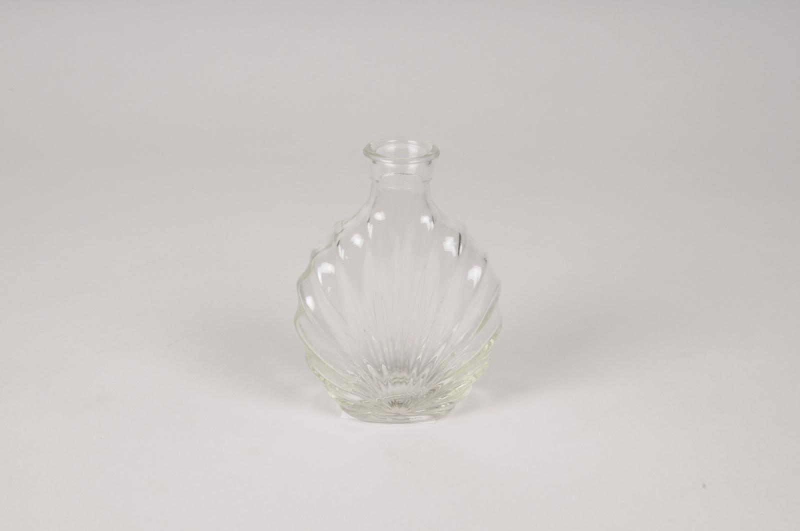 A120R4 Vase en verre D9cm H11.5cm