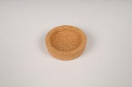 A124PM Support en liège pour soliflore boule D6cm