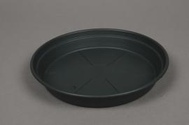 A133H7 Soucoupe en plastique verte D22cm