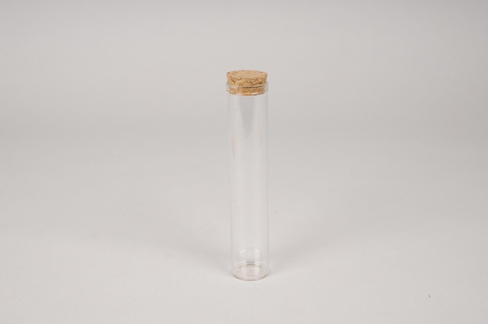 A133PM Boîte de 6 pipettes en verre D3cm H15.5cm