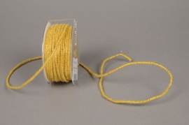 A138VQ Rouleau de fil de laine armé jaune 33m