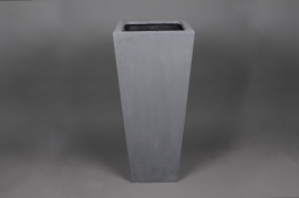 A139LC Polystone planter flared grey 42x42 H100cm