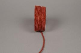A139VQ Rouleau de fil de laine armé orange 33m