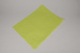 A140QX Paquet de 480 feuilles papier de soie vert pomme 50x75cm