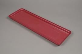 A143H7 Pink plastic saucer 59x19cm H4cm