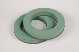 A146T7 Set of 2 floral foam wreath D20cm