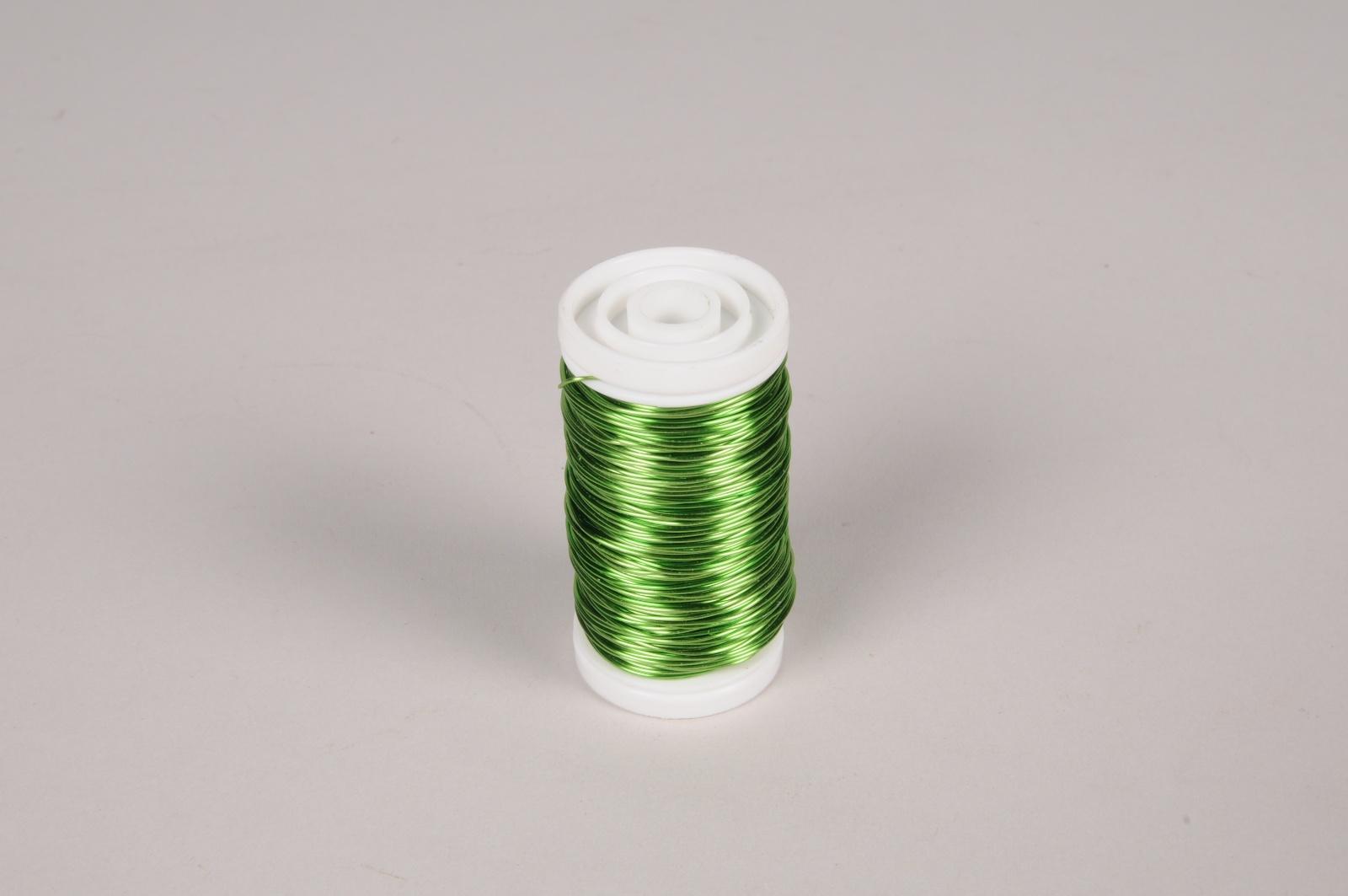 A149MG Green metallic reeled wire L50m