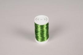 A149MG Rouleau de fil de fer vert pomme L50m