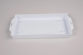 A150T7 Pack of 12 rectangular bowls white