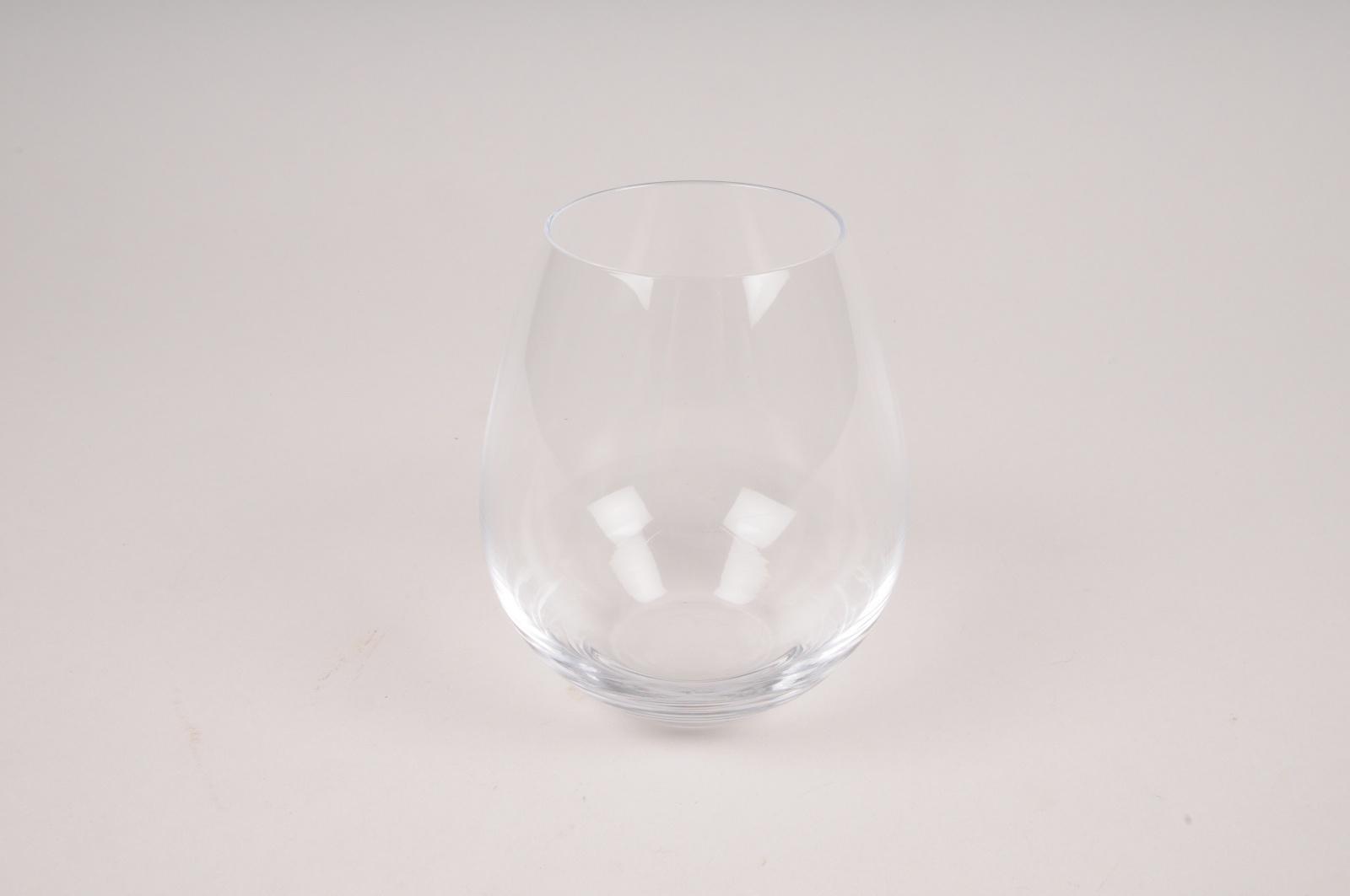 A152W3 Vase en verre obus D10cm H11cm