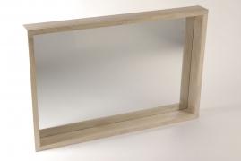 A154RX Miroir en bois naturel 60cm x 90m