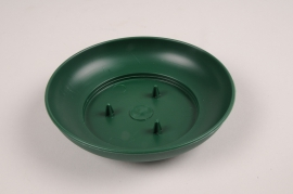 A155T7 Pack of 10 cups green D12cm H3cm