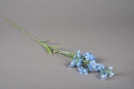 a160nn Delphinium artificiel blanc H75cm