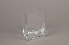 A161I0 Vase en verre haut 10x8cm H15cm