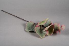a161nn Artificial green branch of leaves H70cm