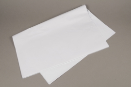 A161OR Paquet de 1000 feuilles papier de soie blanc 50x65cm