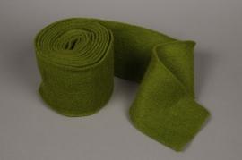 A166VQ Green wool roll 15cm x 5m