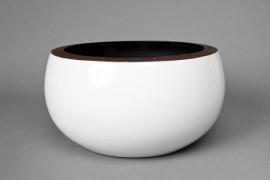 A168QS Ceramic bowl white D30cm H15cm