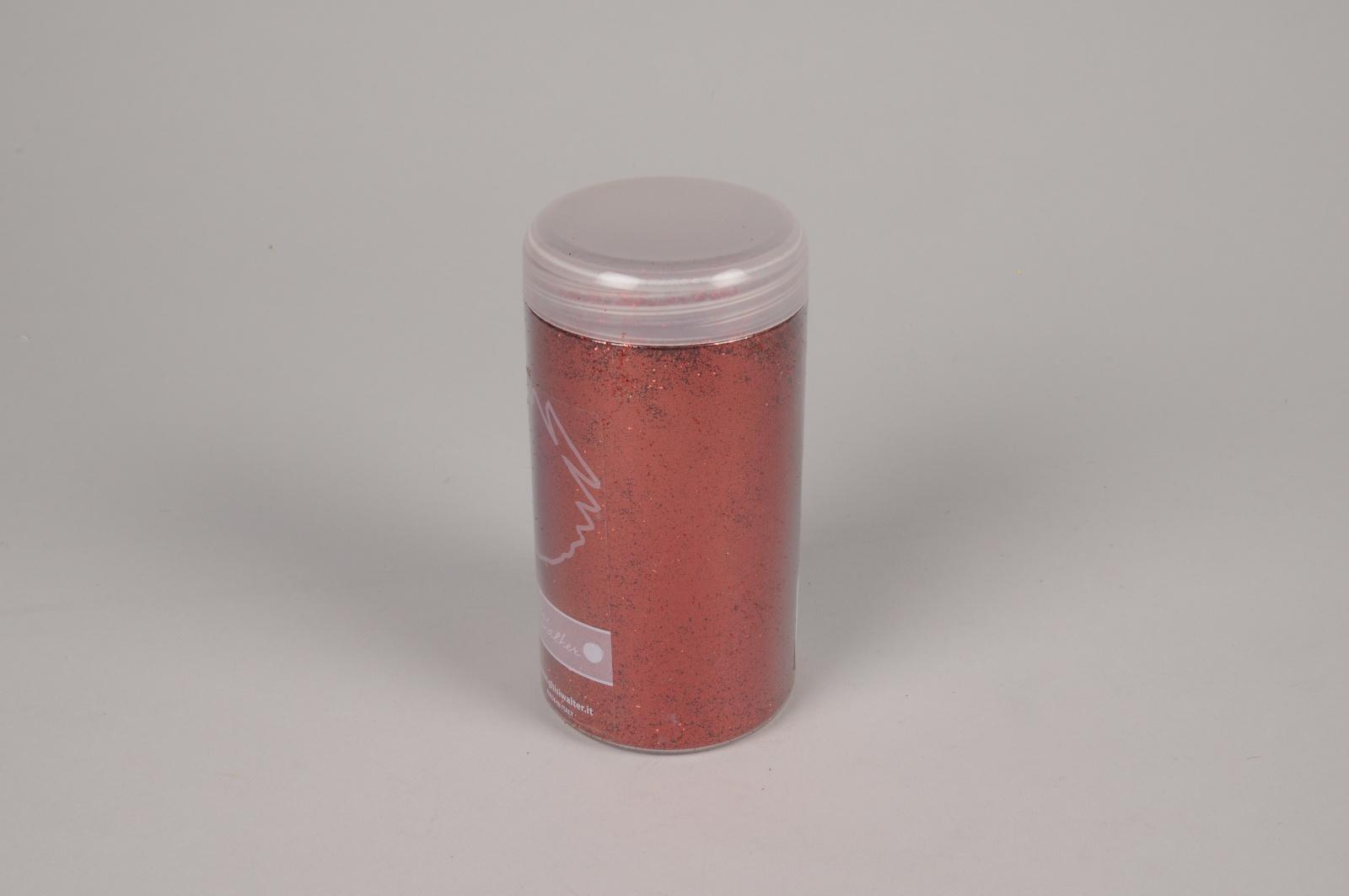 A169QF Pot de paillettes rouges 300g