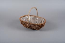A173JL Wicker baskets 22cm x 30cm H24.5cm
