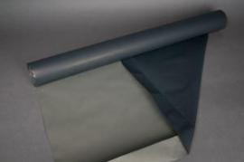A173QX Kraft paper roll dark grey/ cream 80cmx50m