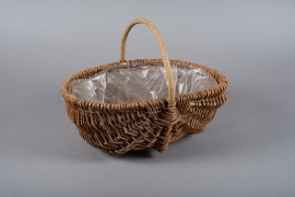 A174JL Wicker baskets 30cm x 40cm H28cm