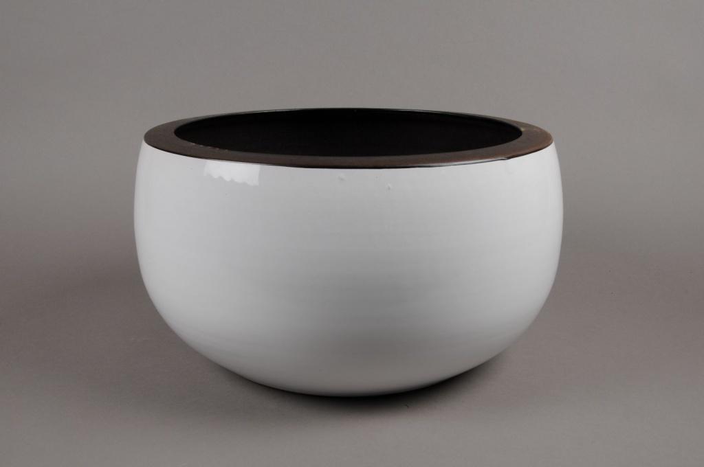 A174QS Ceramic bowl white D38cm H19cm