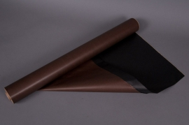 A177QX Rouleau de papier kraft chocolat/noir 0,80x50m