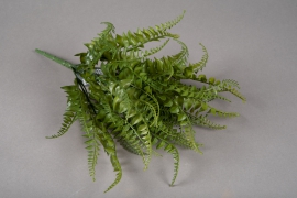 a186nn Artificial green pick of fern H35cm