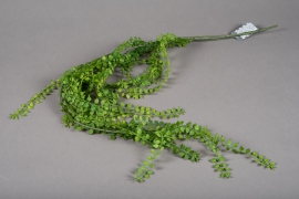 a193nn Artificial green branch of fern H96cm
