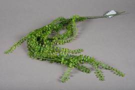 a193nn Artificial green branch of fern H96cm