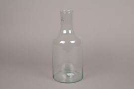 A197DQ Glass bottle vase D15cm H33cm