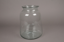 A198IH Glass jar D22cm H29cm