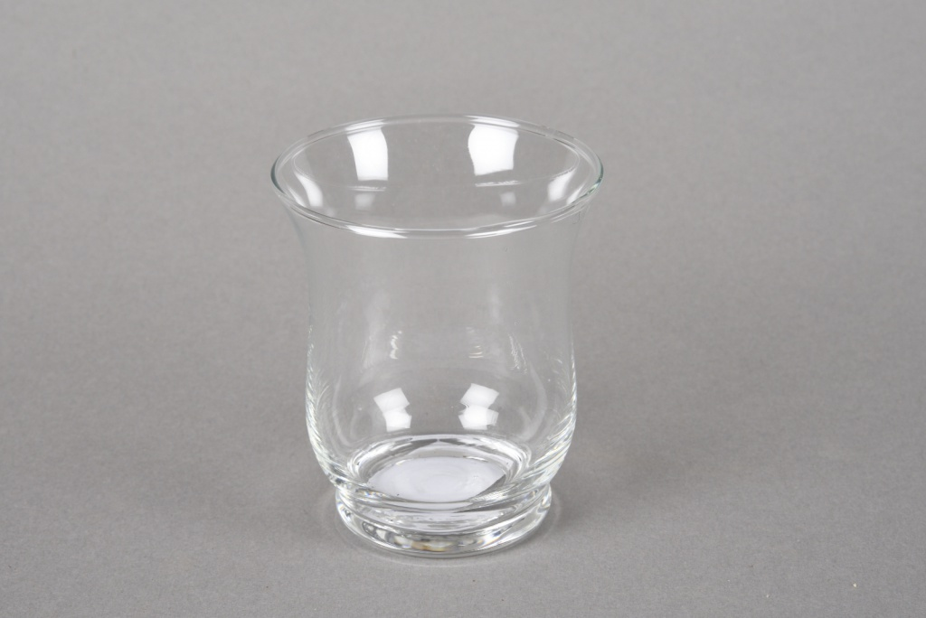 A200I0 Photophore en verre D10cm H13cm