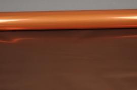 A201QX Rouleau de papier métal cuivre et chocolat 70cm x 50m