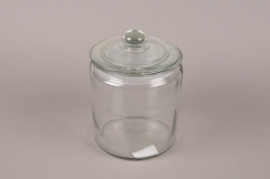A203I0 Glass sweetbox D14cm H21cm