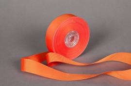 A207UN Ruban en tissu orange 25mmx20m