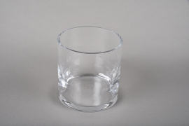A209I0 Pot glass thick  D10.5 H11cm