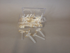 A211MG Box of 50 clear corsage pin